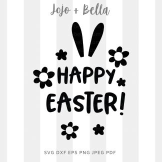 happy easter svg for cricut, silhouette and sublimation