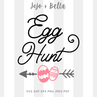 Egg Hunt svg png for cricut, silhouette and sublimation
