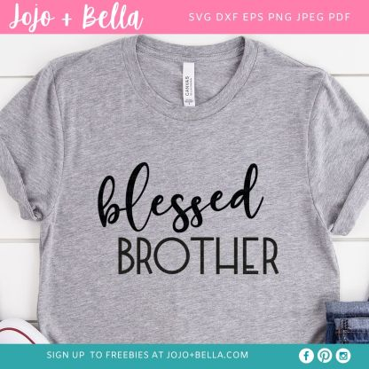 blessed family svg bundle for Cricut and Silhouette Crafting
