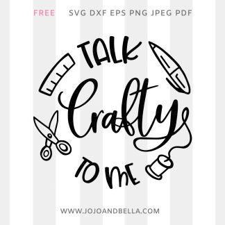 free craft svg file for cricut and silhouette