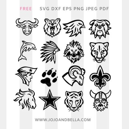 Free Sports Logo Svg Cut File For Cricut and Silhouette Crafting