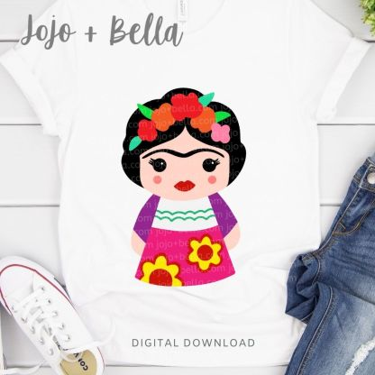 Free Frida Kahlo Svg for Cricut and Silhouette Crafting