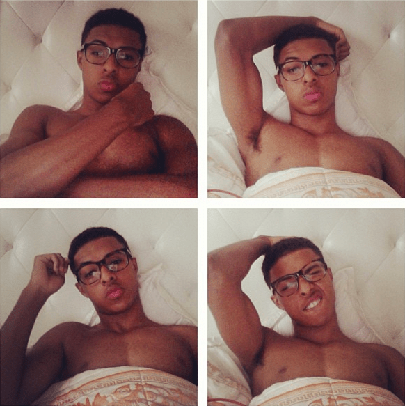 Diggy Simmons Body Instagram 2015