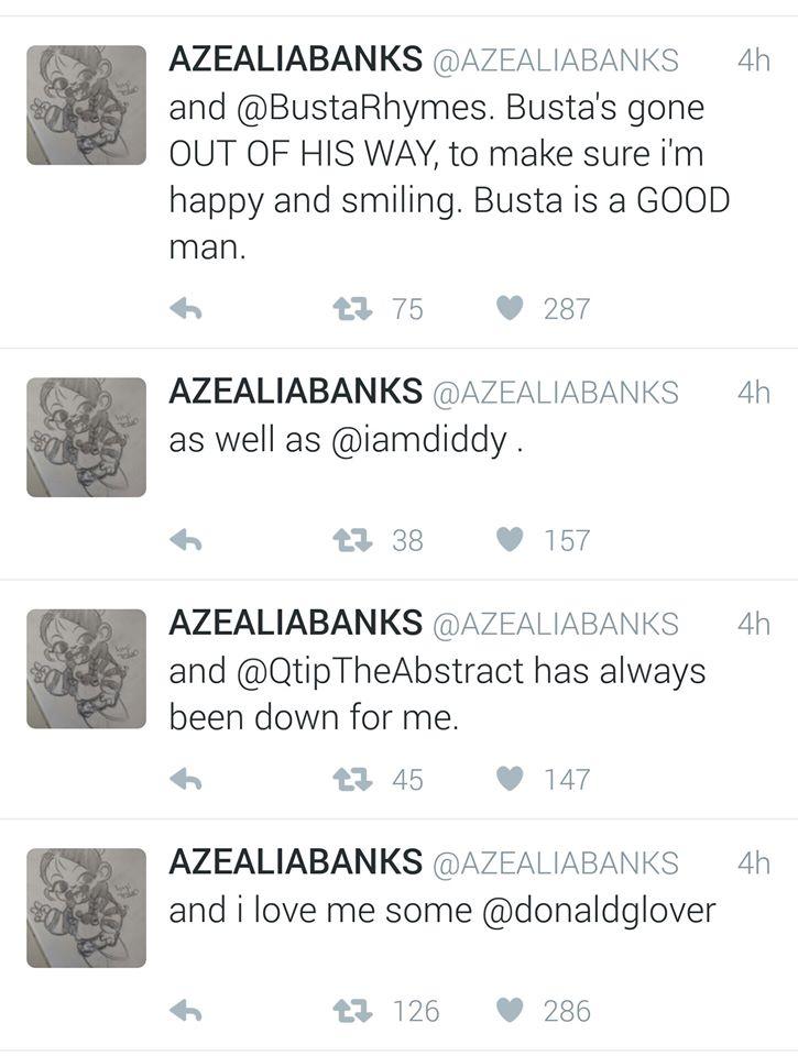 azealia banks white men