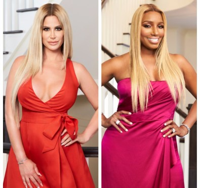 "Uh Oh! Kim Zolciak Pulls Out of 'RHOA' Season 10 Girls Trip AGAIN, Nene Leakes Throws Her Shade on IG About Her ""Privilege""[Photos]"
