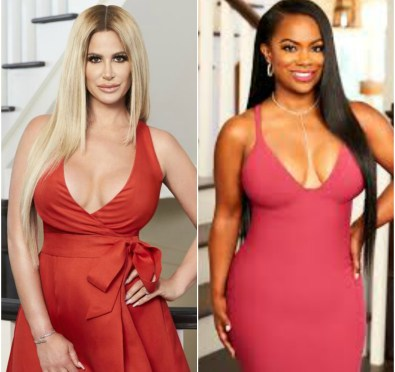 "Must See: Kandi Burruss & Kim Zolciak Biermann Face Off on Twitter Over Fresh Lesbian/Swinger Accusations ""I'm Sick of These B****** Lying On Me"" [Video]"