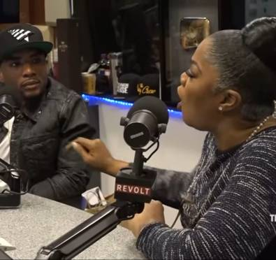 """MUST SEE: Mo'Nique Stands Off with 'The Breakfast Club' In Tense Debate, Comes For Charlamagne """"Lenard"""" Tha God Over Him Crowning Her 'Donkey of the Day'"""