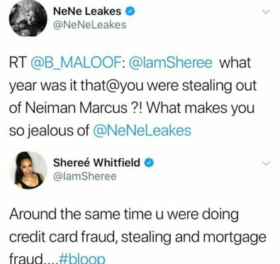 Uh Oh: Nene Leakes & Sheree Whitfield Exchange Nasty Shade on Twitter Following Sunday's Episode, Kim Zolciak Biermann Jumps In