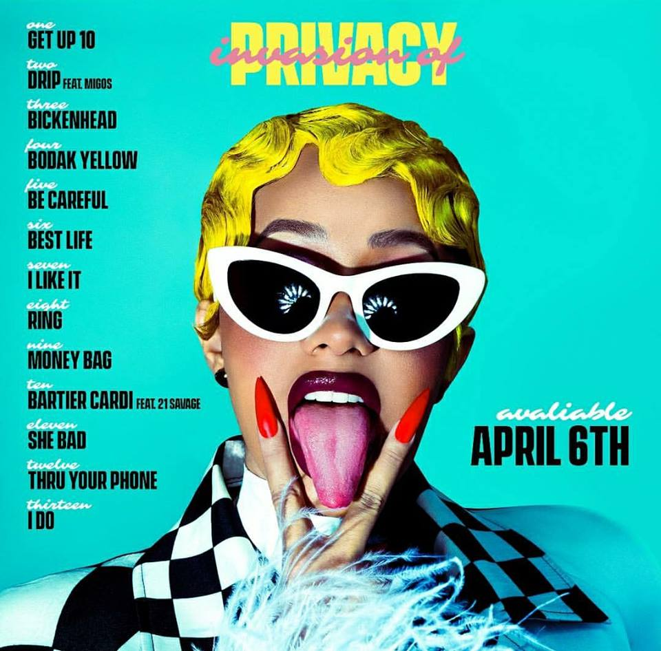 07e8209260 Cardi B s  Invasion of Privacy  Set for No. 1 Debut on Billboard 200 ...