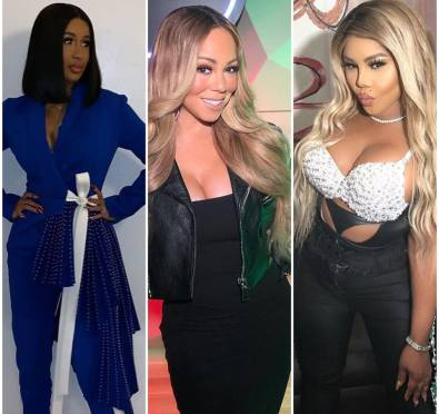The Mariah Carey, Lil' Kim, Cardi B Collaboration Is Happening According To Kim's Team, Mariah Spotted In The Studio
