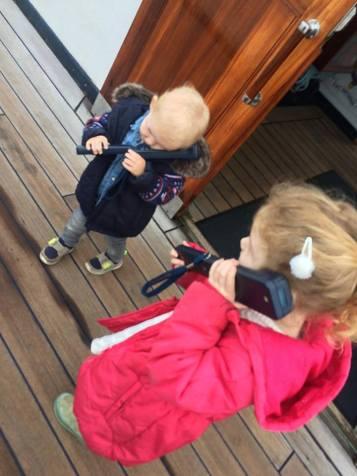 Fun Mum on Royal Yacht Britannia