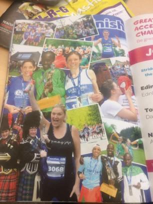 Edinburgh marathon festival