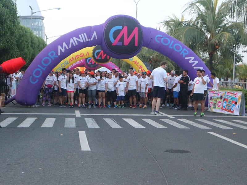 Color Manila Glitter Run