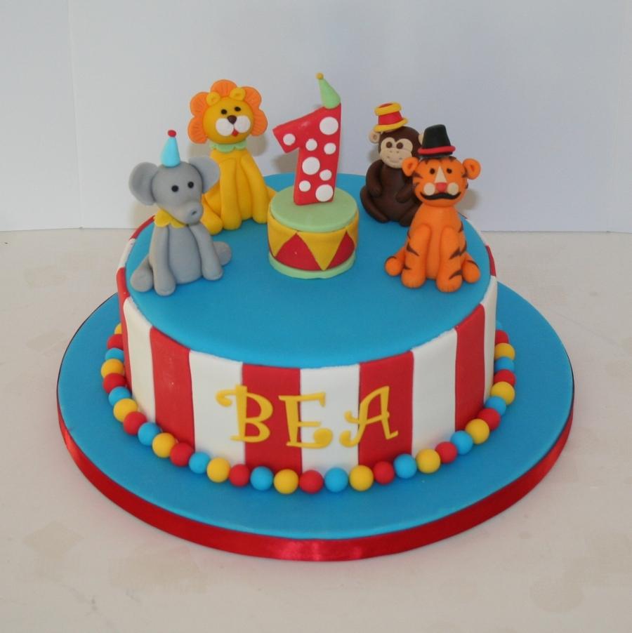 Circus Theme 1st Birthday