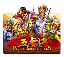 Joker Slot - Five Tiger Generals
