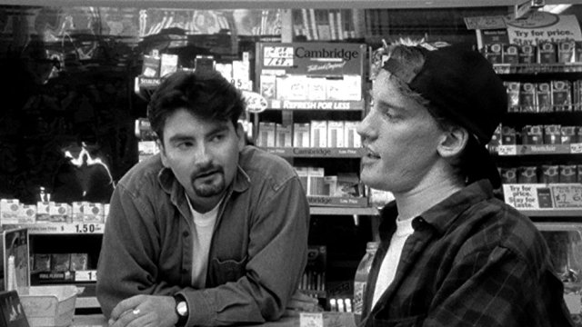 kevin smith's clerks redefined the small-budget film with its use of a ragtag group of actors and going to extreme lengths and risking everything to get the film made