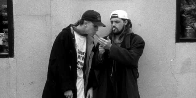 Kevin Smith played the part of Silent Bob, alongside his partner Jay. The duo made their debut in 'Clerks' and their popularity skyrocketed in future years.