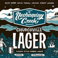 Neshaminy Creek Brewing Churchville Lager best craft beers in pennsylvania