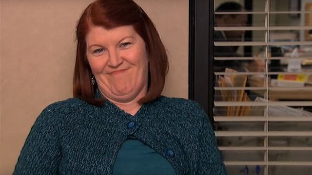 meredith palmer smiling wickedly