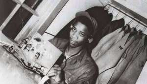 Morgan Freeman working as a radar mechanic in the Air Force in the late 1950s