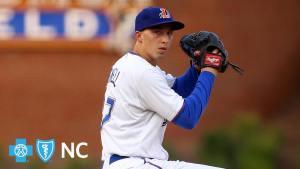 Blake Snell picks up a win for the Triple-A Durham Bulls in June of 2017. One season later, he is known as CyZilla for his remarkable 2018 campaign.