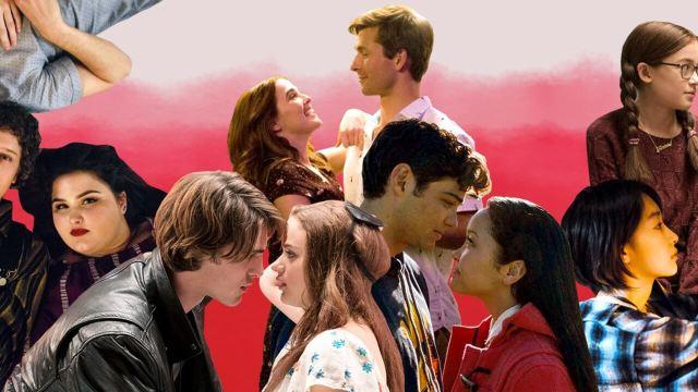 Netflix rom com renaissance collage