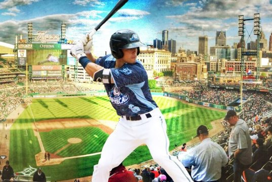 Brady Policelli Looks to Make His Mark With Detroit