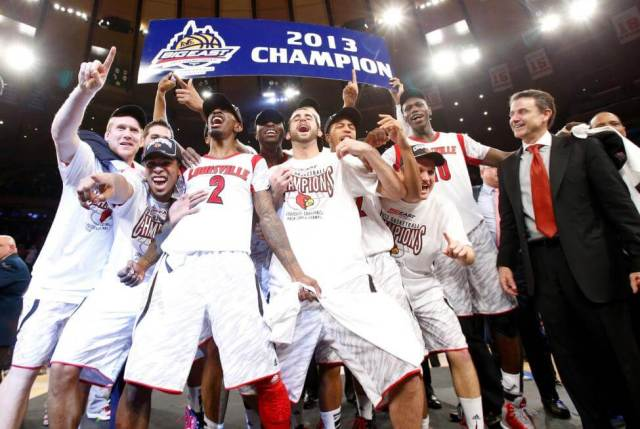 Louisville wins the 2013 Big East Championship before the notorious 2014 Big East realignment