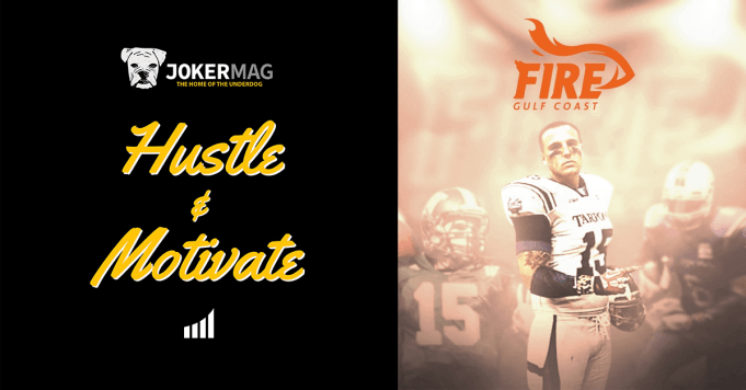 Sitting down for an interview with Gulf Coast Fire QB Collin Saring. Collin's story is one of incredible resilience, as this young man has faced and overcome a ton of obstacles in his life and football career. Presented by Joker Mag, the home of the underdog.