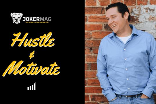 Joel Hawbaker interview on Hustle & Motivate, presented by JokerMag.com, the home of the underdog.