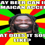 A Jamaican mad man is seen…