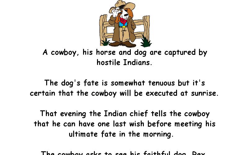 Bad Cowboy Jokes