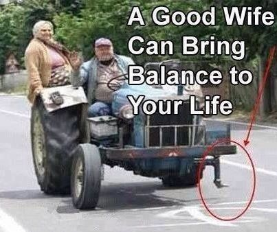 Good wife bring balance