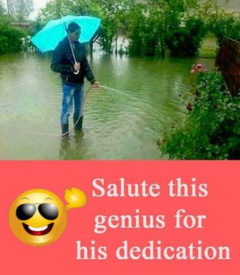 Salute this extreme dedication