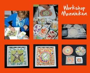 collage workshop mozaieken