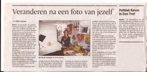 stuk krant ED 19-2-2014