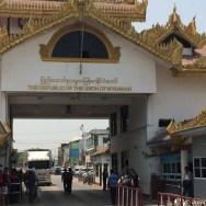 Travessia por terra Tailândia - Myanmar | land border from Thailand to Myanmar