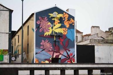 Arte urbana em Ponta Delgada