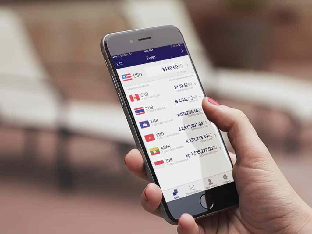 dinheiro em viagem / apps de viagem