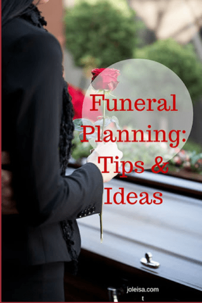 Funeral to Plan? Tips and Ideas