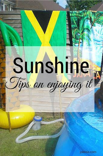 Sunshine! Ten Ways to Enjoy it