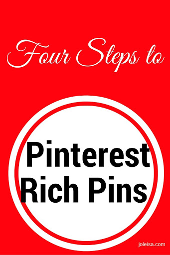 Pinterest Rich Pins – Easy Steps