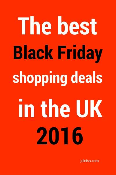 Black Friday 2016 deals in the UK