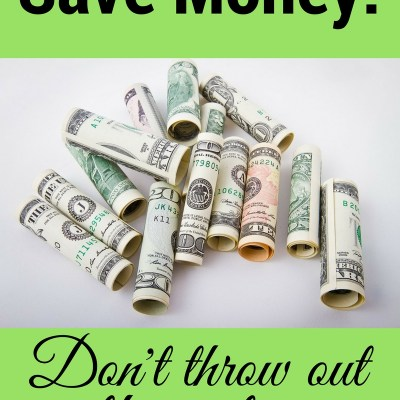 How not to throw money away