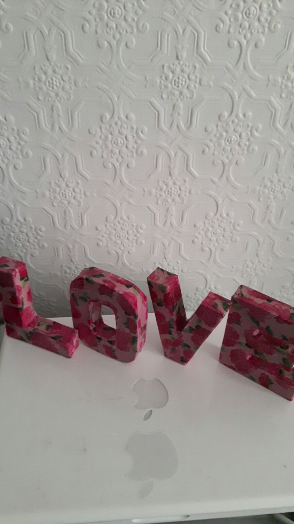 letters from hobbycraft