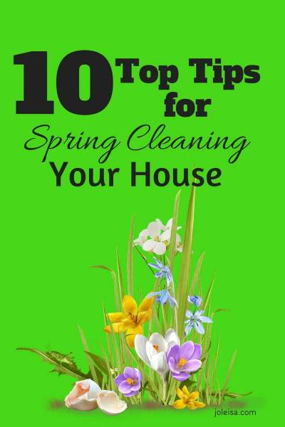 Ten top Tips for Spring Cleaning Your House