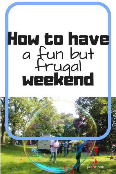 Fun but Frugal Weekends