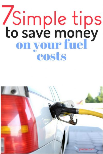 Seven Simple Tips to Save Money on your Fuel Costs
