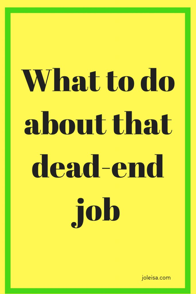 Don't stay stuck in a dead end job. Leaving it is scary but there are several things you can do to get yourself ready for the leap of faith.Pin to read later.