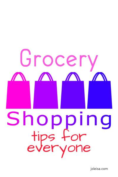 Grocery Shopping Tips for Everyone